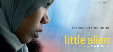 Einladung Filmpremiere Little Alien